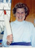 Mom and rolling pin